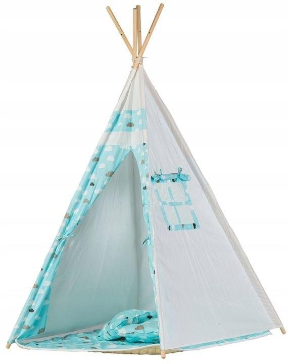 Namiot tipi dla dzieci wigwam domek mata 2 poduszk