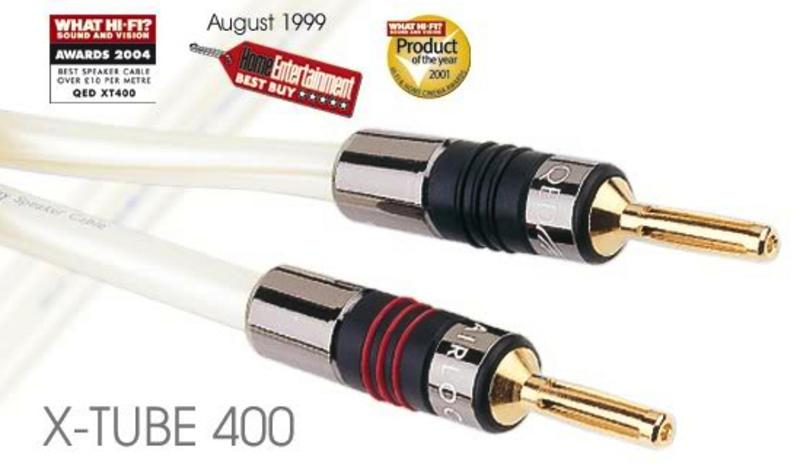 QED SIGNATURE X-TUBE 400 przewód głośnikowy 2x3m