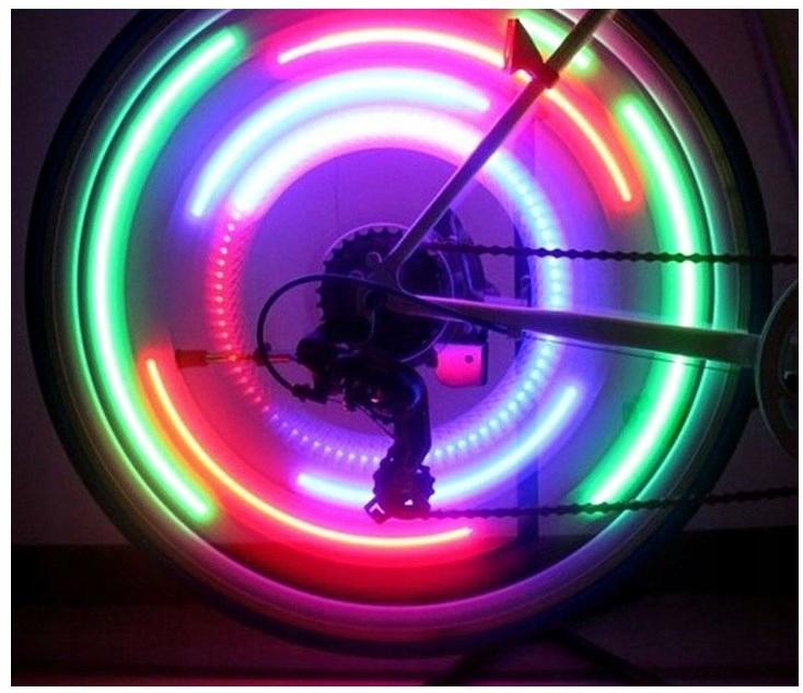 świecące Szprychy Lampka Na Rower Nakładka Led 7518545415