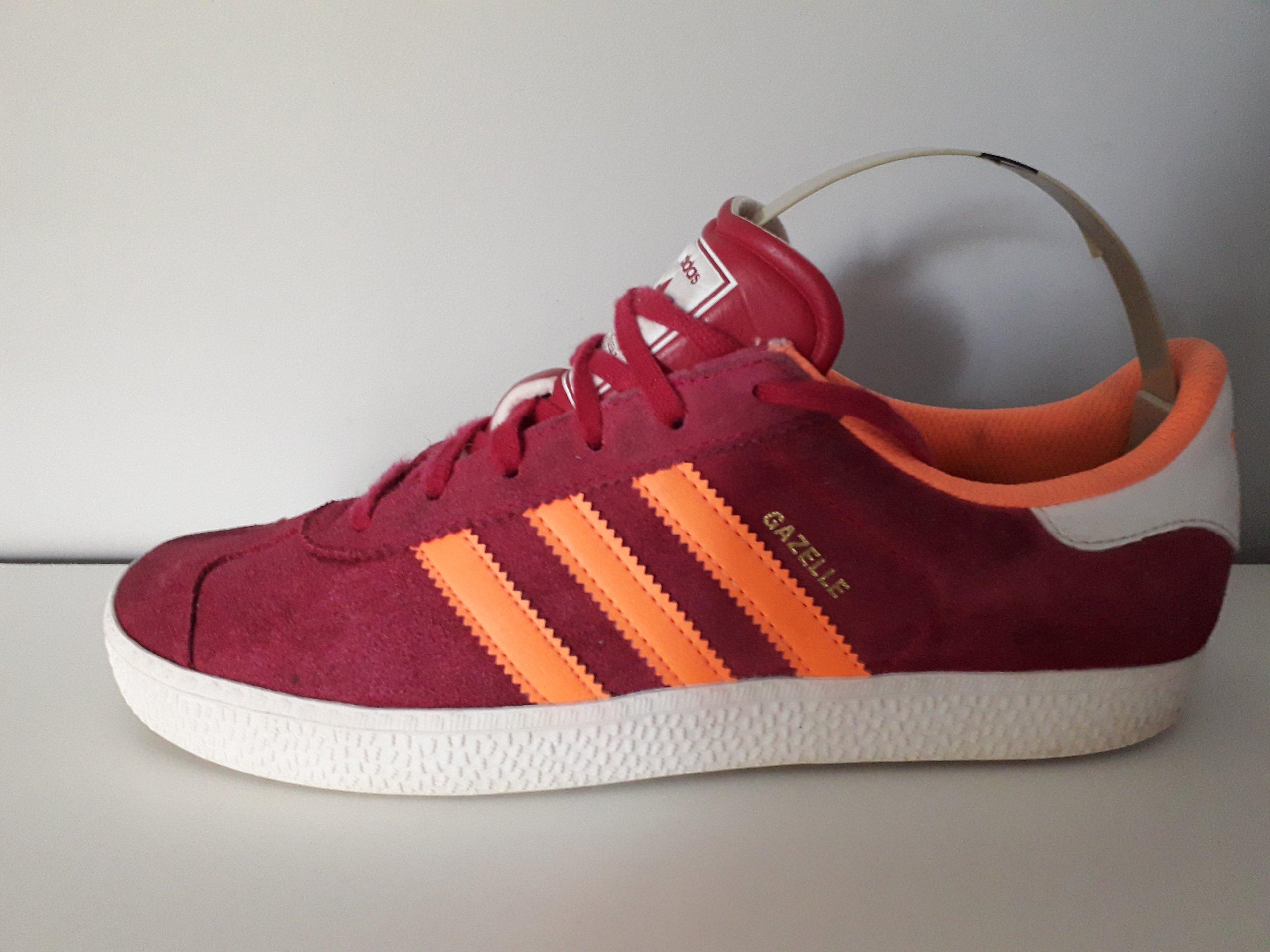 Buty Damskie Adidas Gazelle 2 J S74758 Czerwone 40