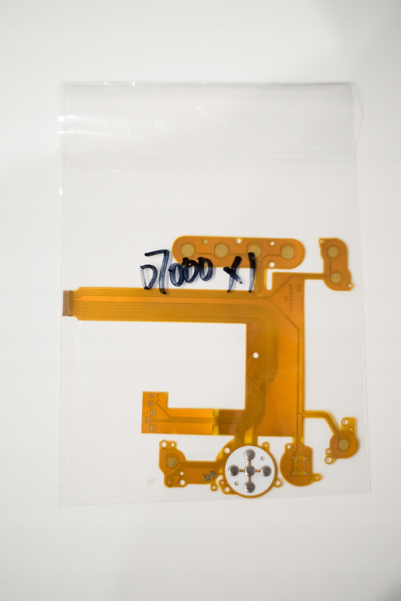 Nikon D7000 Taśma przycisków FLEX klawiatura tylna