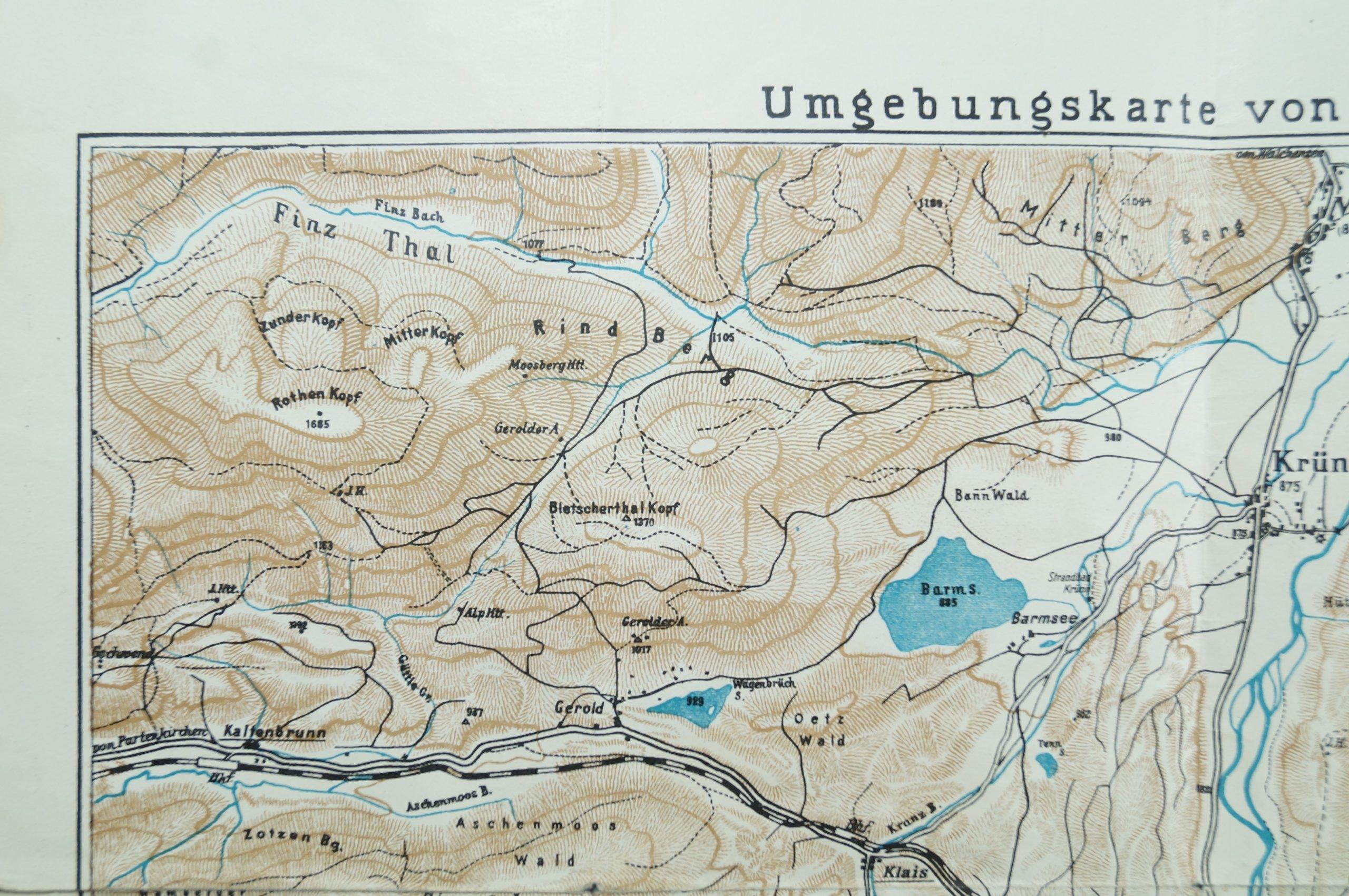 bawaria mapa