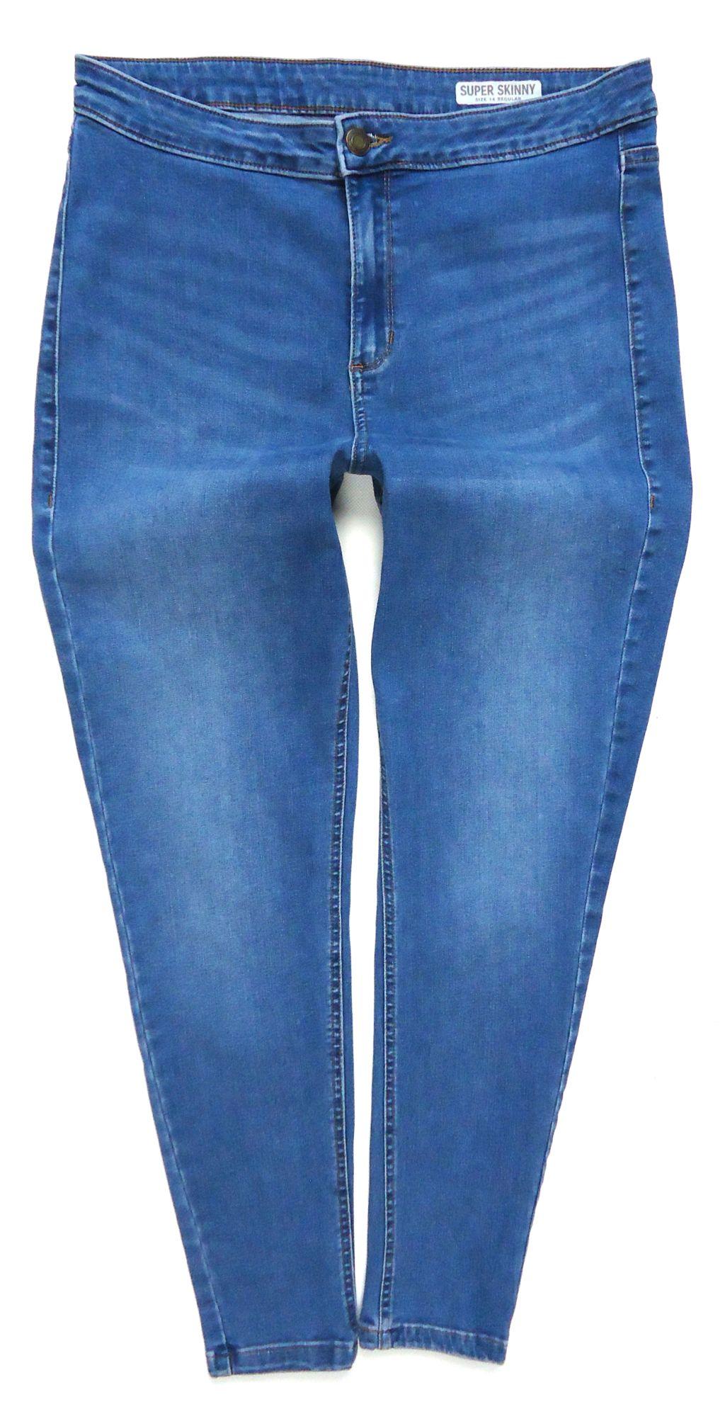 2521 M&S spodnie jeansy rurki SKINNY 42/44