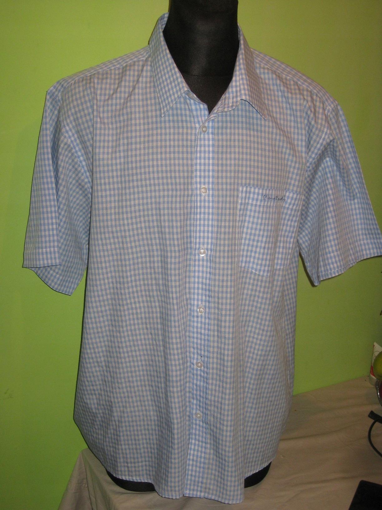 PIERRE CARDIN koszula kratka roz. 4XL