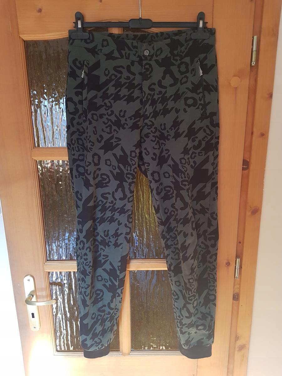 VERSACE JEANS spodnie męskie slim dresowe
