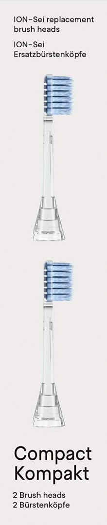 ION-Sei Replacement brush head Compact Soft IETRB0