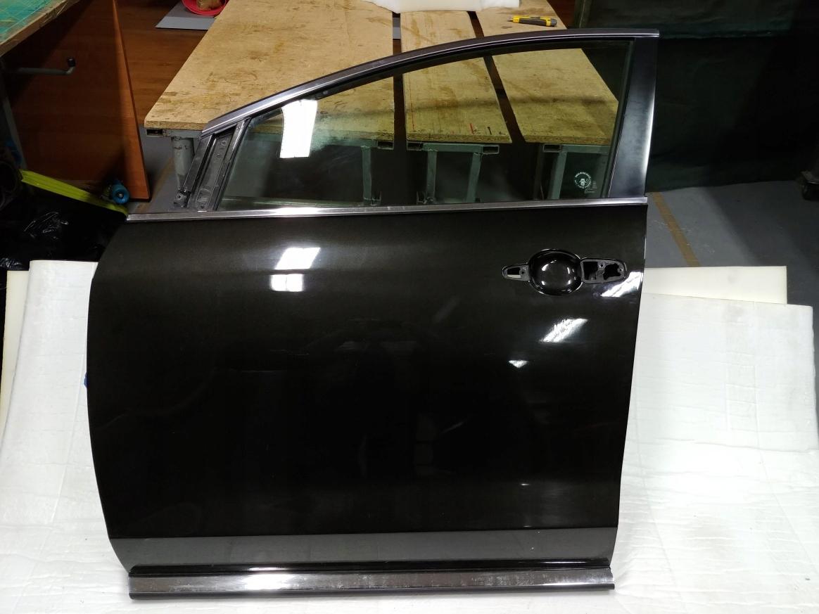Drzwi LP LT mazda CX7 lift 2011 czarny-brąz