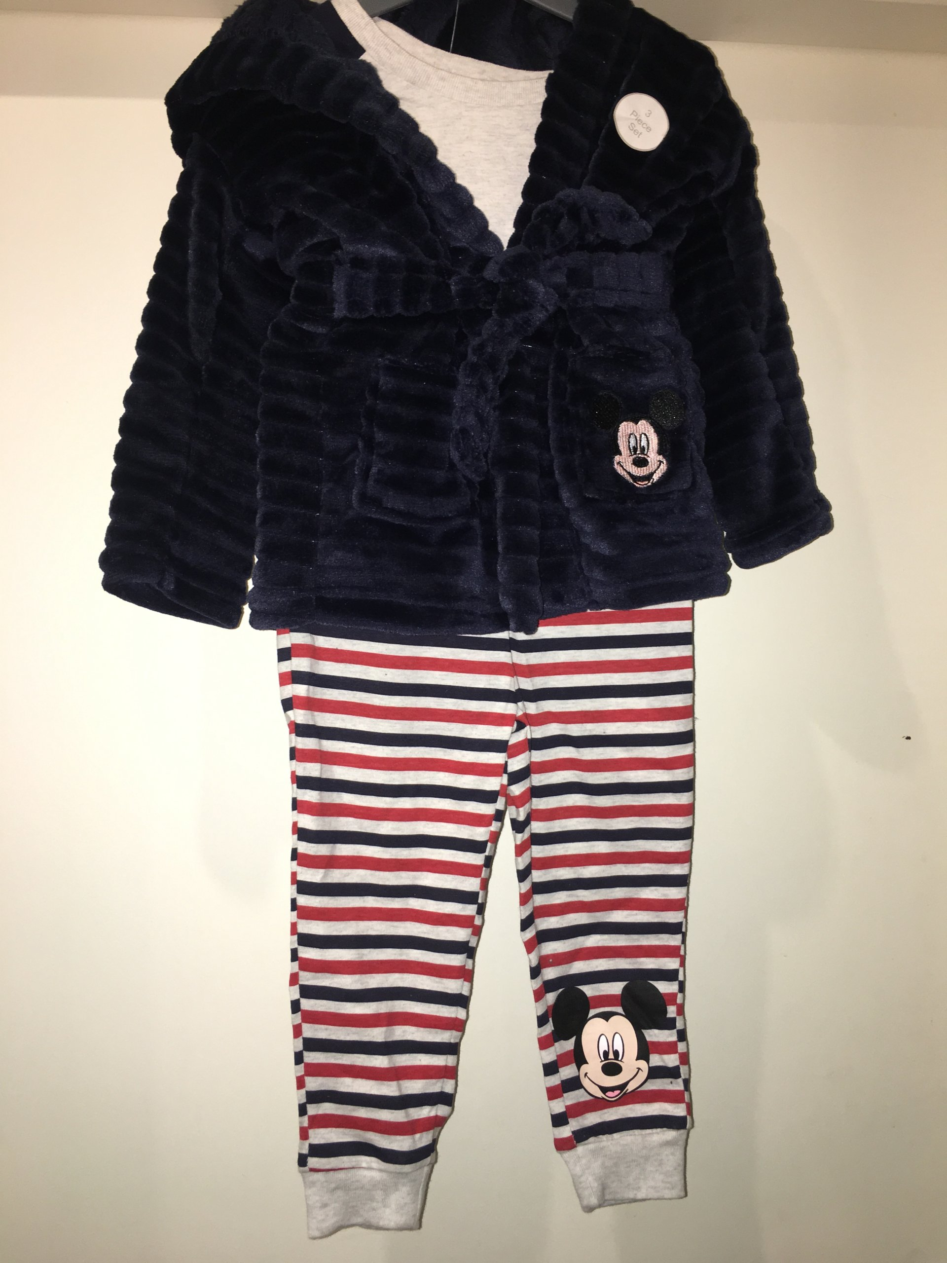 Piżamka + Szlafrok dla chłopca PRIMARK 92cm