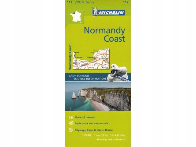 ArtTravel Kraków: Normandy Coast mapa Michelin