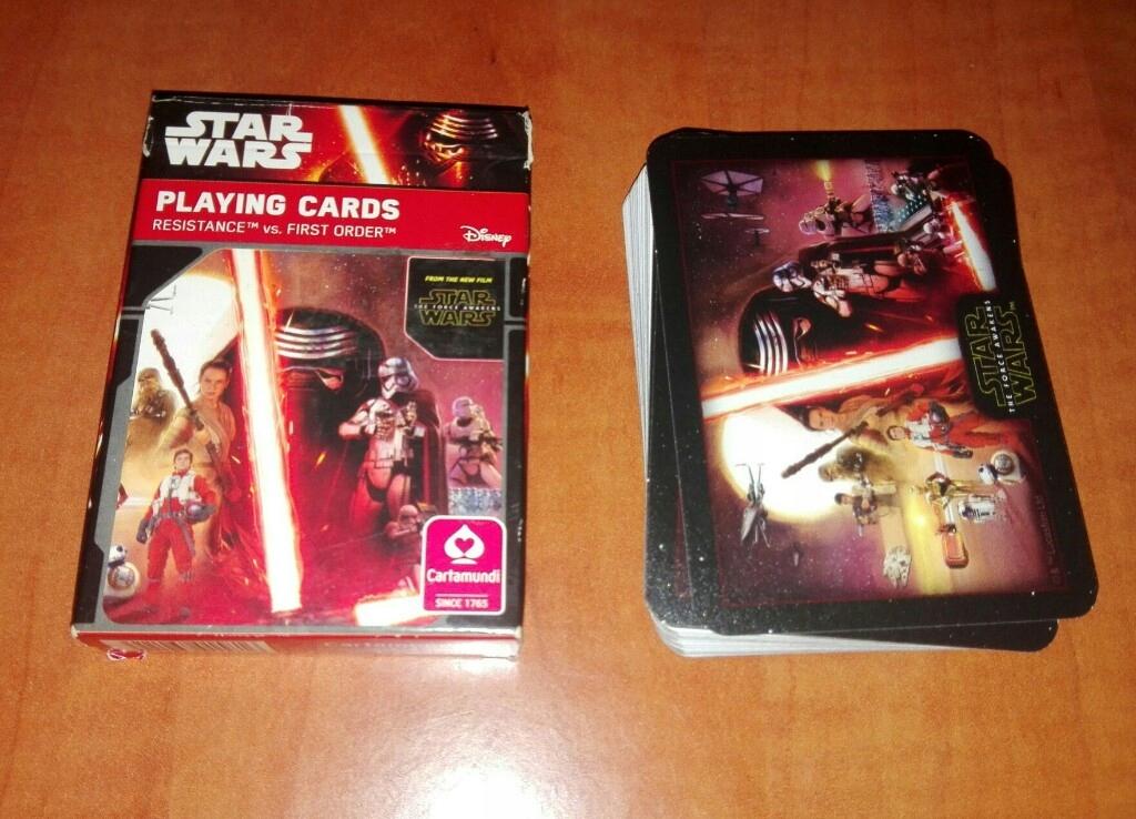 Gwiezdne Wojny-karty do gry,nowe,tanio!