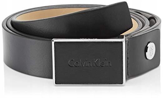 Pasek do spodni męski Calvin Klein 3cm czarny