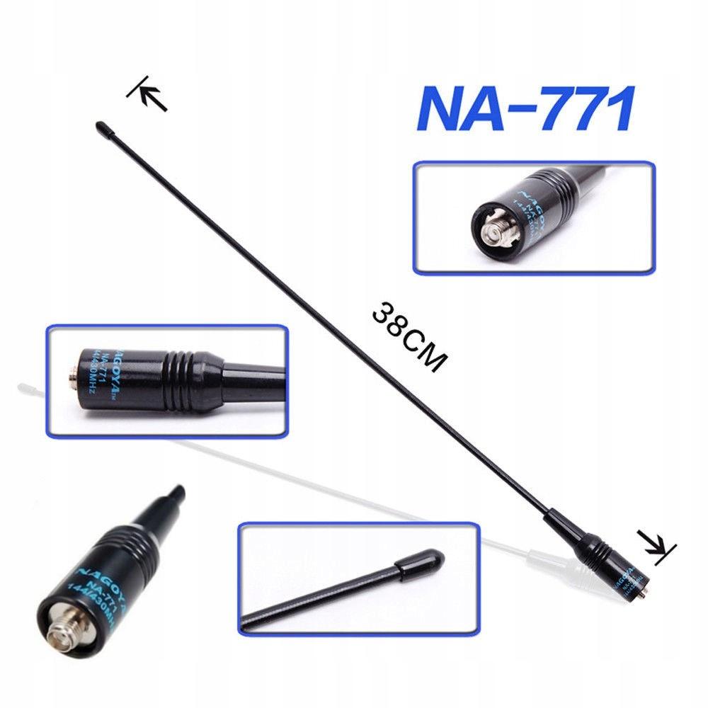 Antena 10W NAGOYA NA-771 SMA-F Baofeng UV-5R UV-82