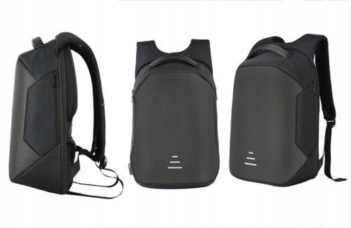 Aquarius Plecak Antywłamaniowy Uniseks Port USB