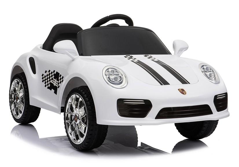 Auto na Akumulator Porsche Carrera 911 Białe