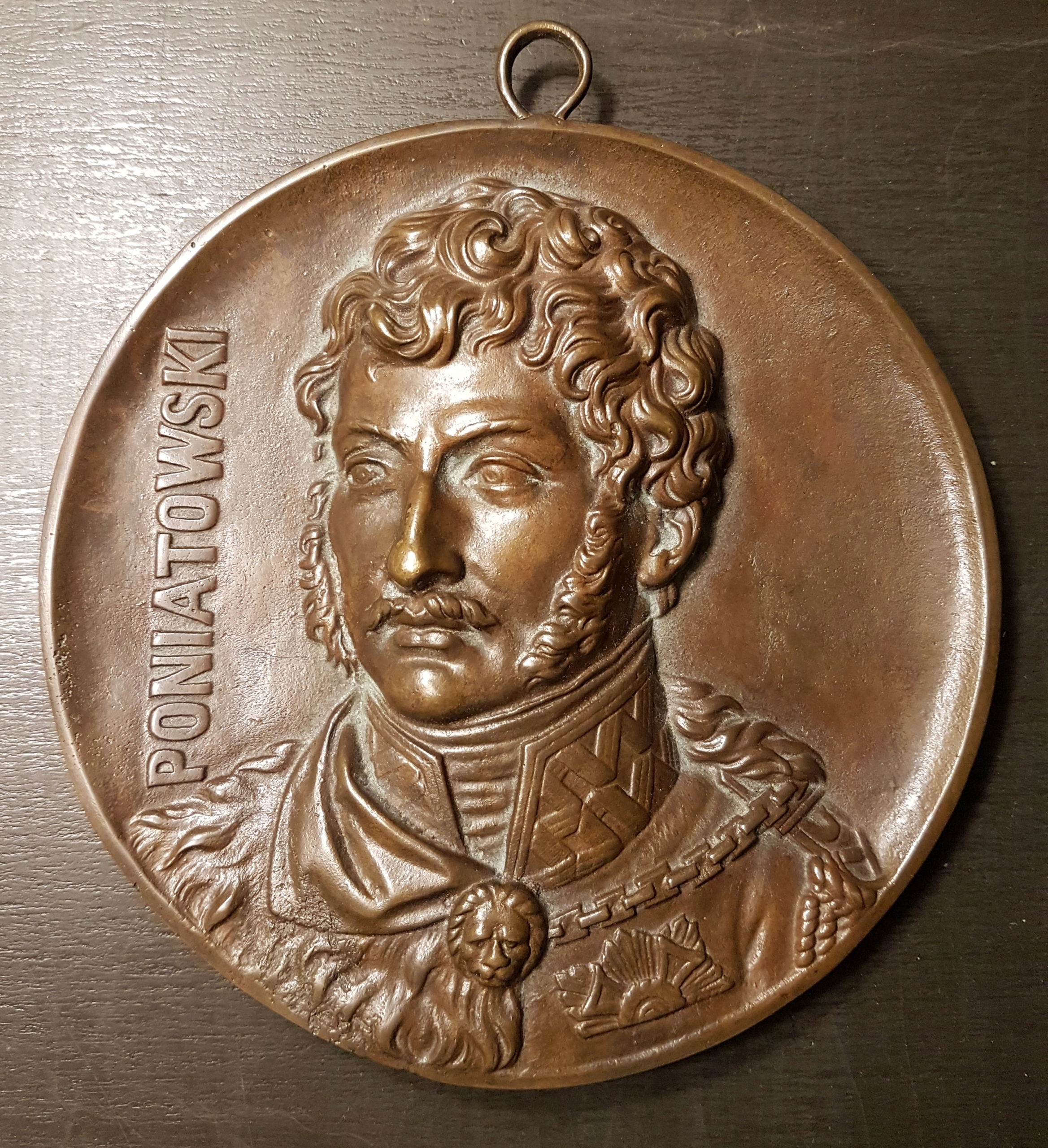 Poniatowski jak Minter Plakieta Medalion
