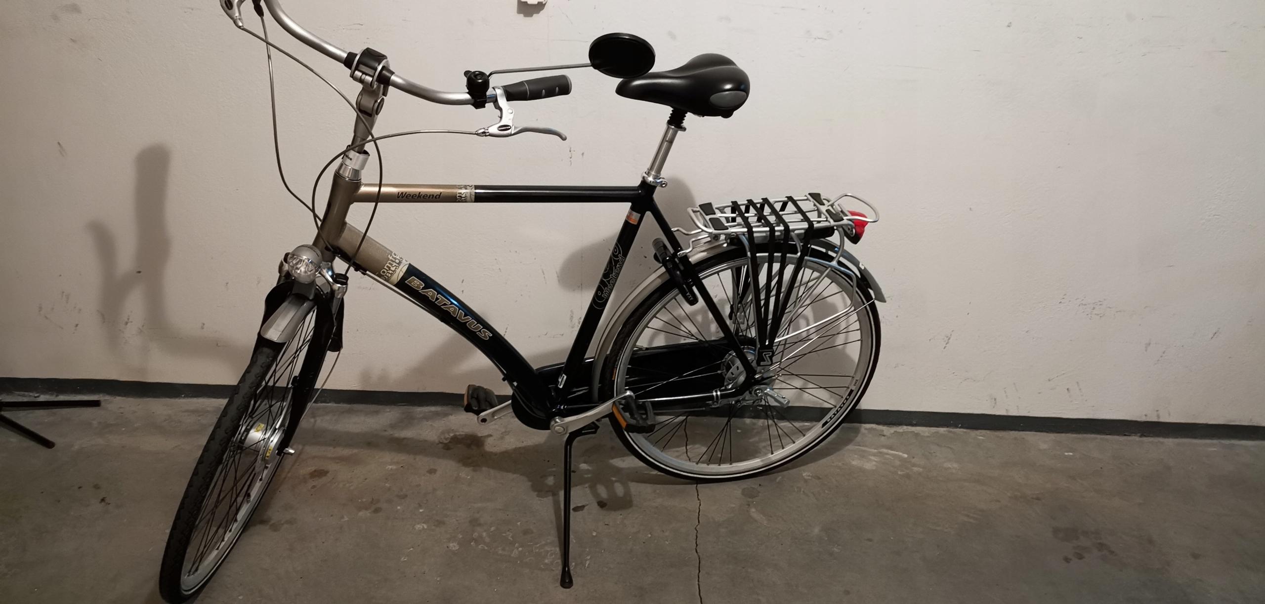 Batavus Weekend wysokiej klasy rower Holenderski