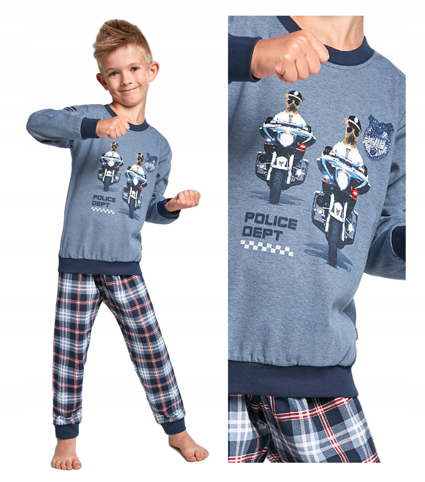 piżama chłopięca CORNETTE 593/85 PATROL - 86/92