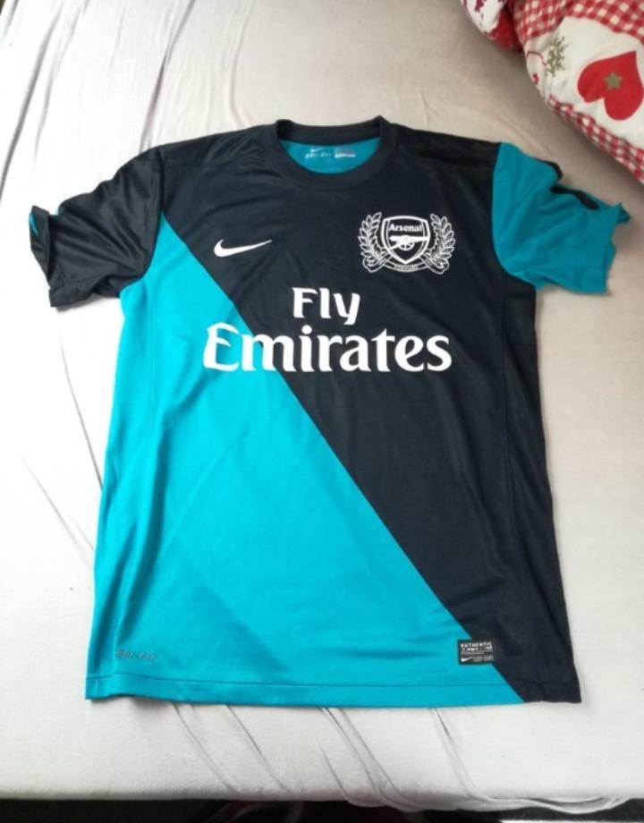 Koszulka Arsenal na 125-lecie klubu czarno-niebies