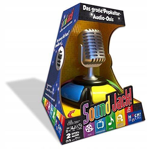 Hutter Trade 061829 Dźwiękowa gra akustyczna Quiz