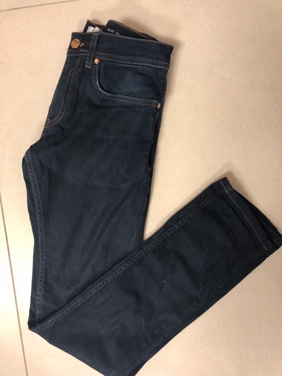 Spodnie jeansy zara 38 slim fit M okazja modne bdb