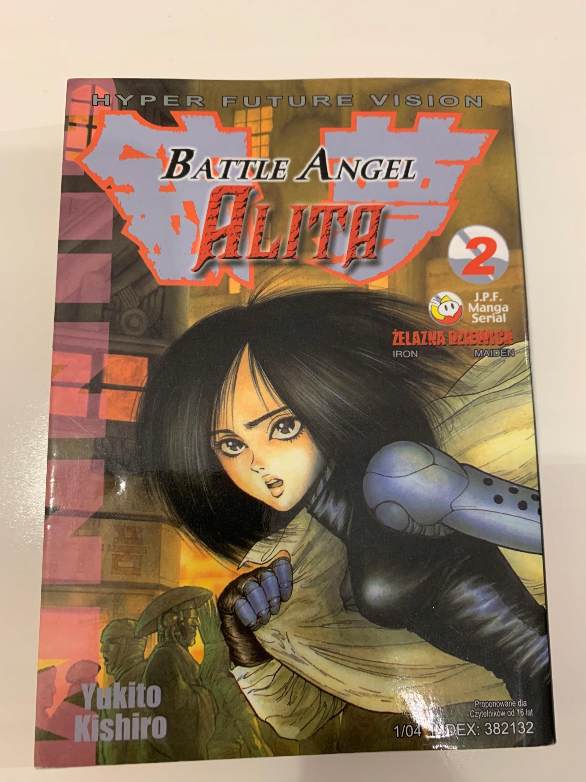 Alita Battle Angel vol 2 manga