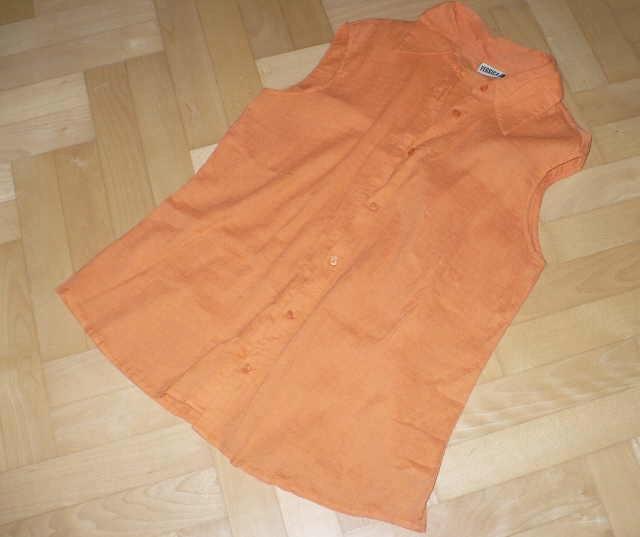Bluzka bawełna pomarańczowy C&A 48