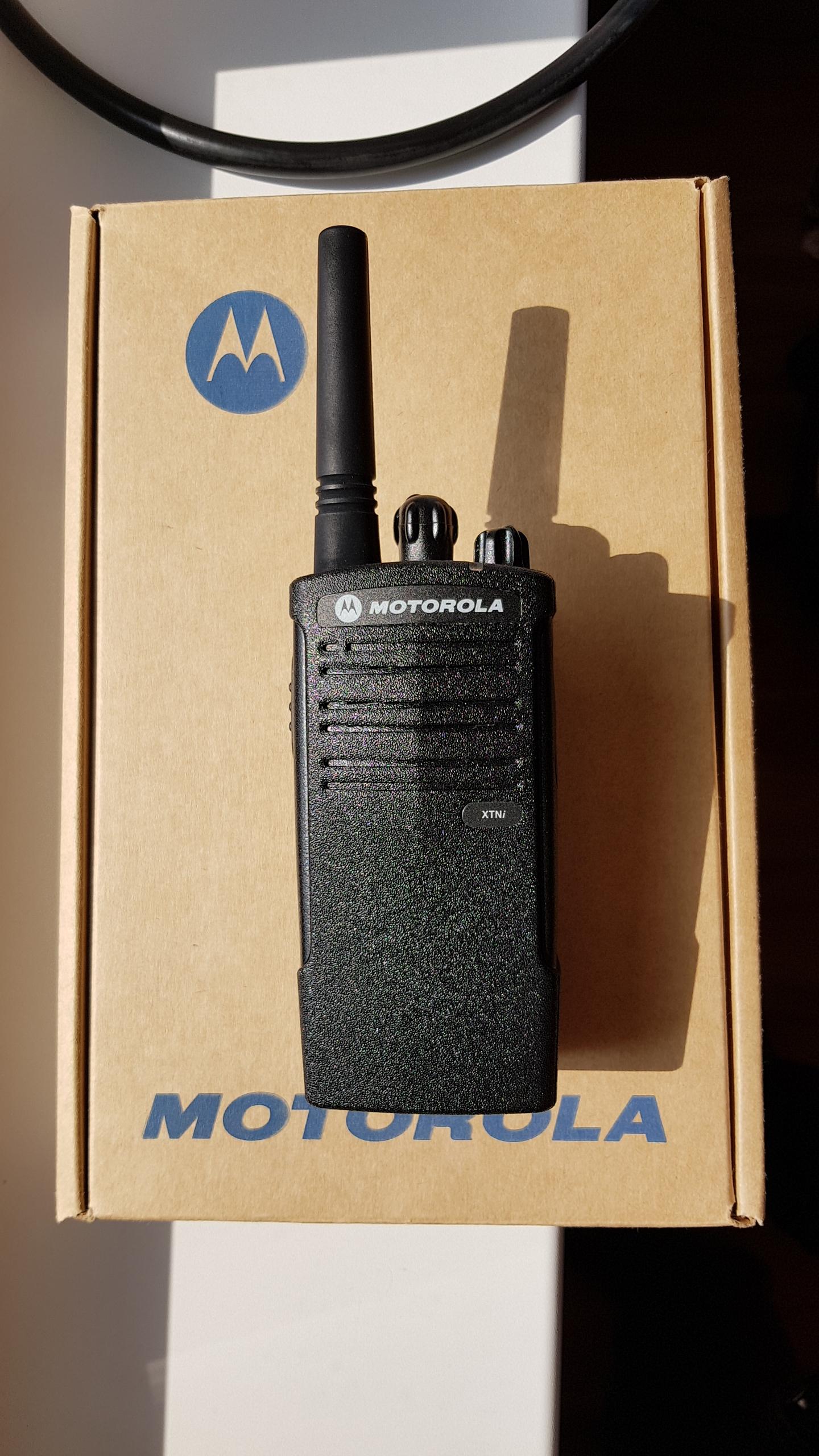 Motorola XTNi profesjonalne PMR 446MHz
