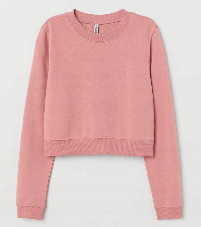 H&M Krótka bluza dresowa S 36