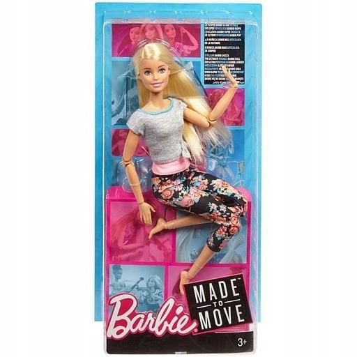 Mattel Barbie Made to move FTG80 FTG81