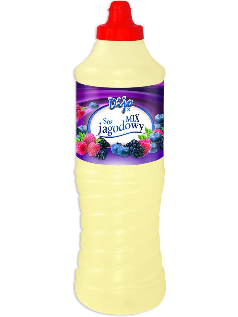 Sos jagodowy mix Dijo polewa do lodów, deserów 1kg