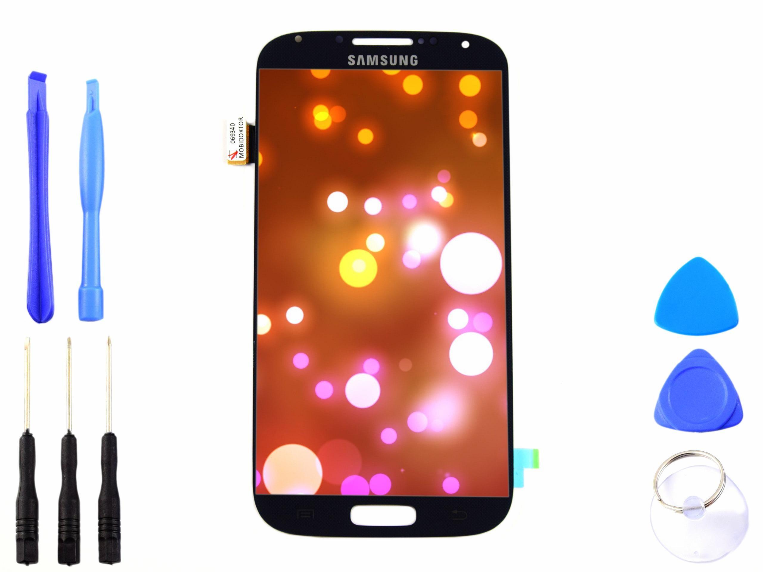 Wyświetlacz LCD dotyk Samsung GALAXY S4 granatowy