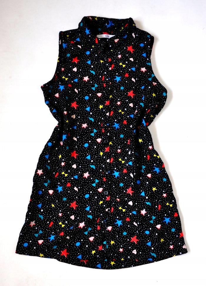 M&S Sukienka j.NOWA 7-8lat 128cm Zwiewna