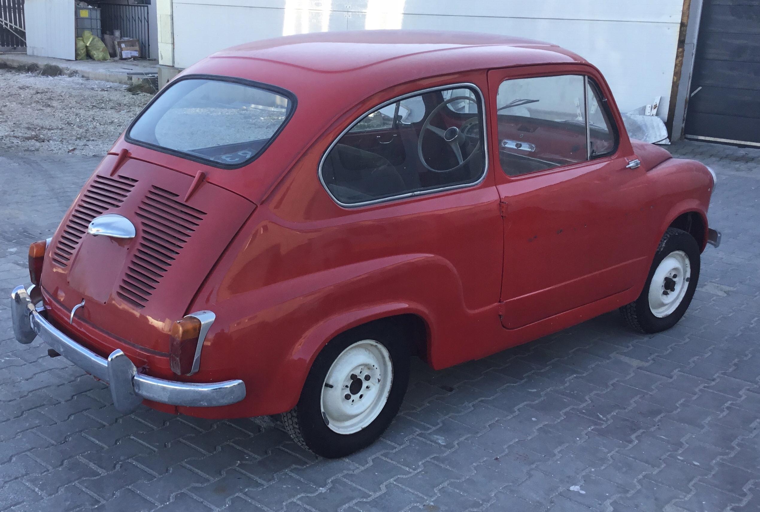 Fiat 600D 1962 rok