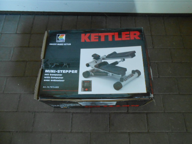 NOWY STEPPER KETTLER