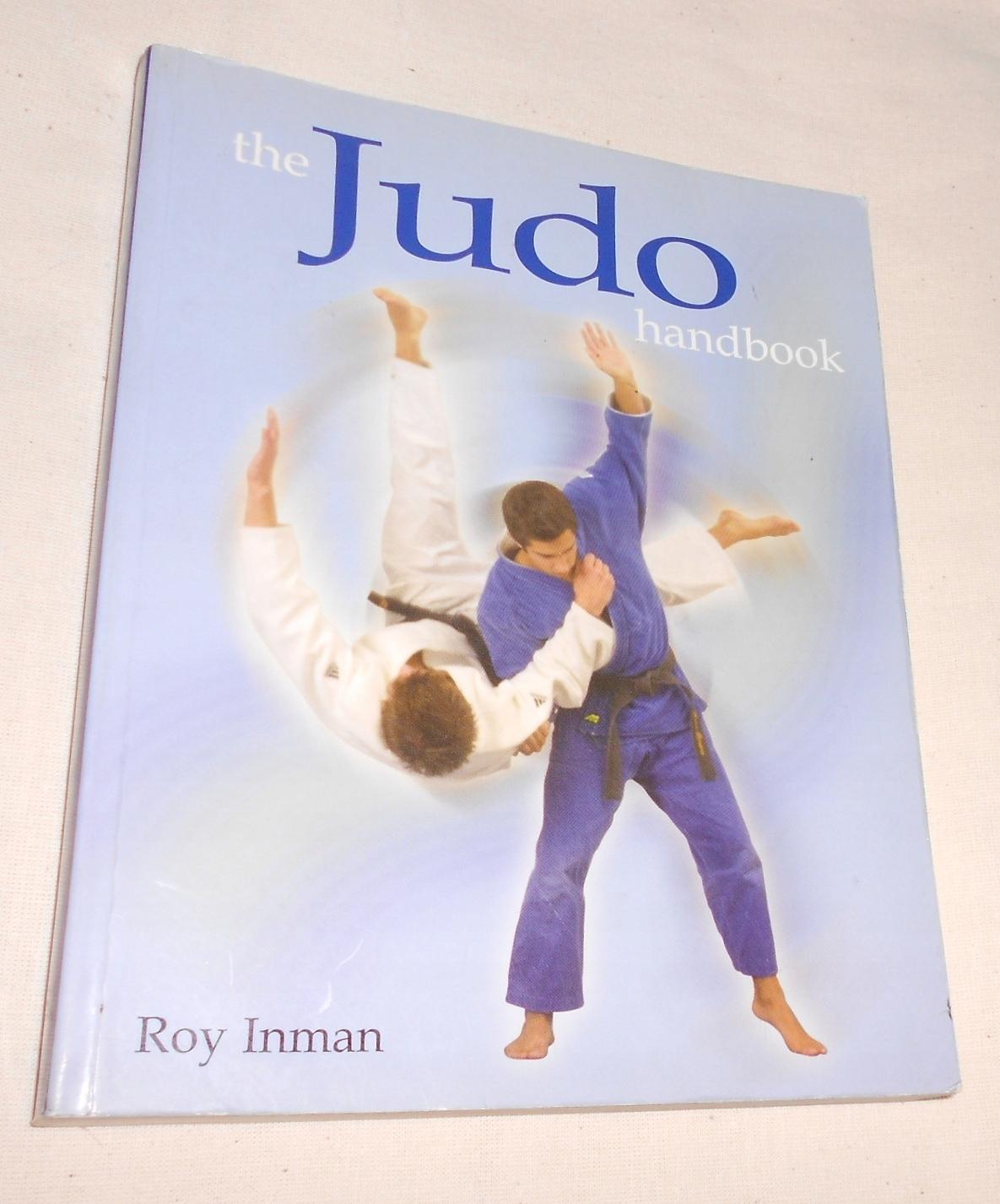 Roy Inman JUDO HANDBOOK ilustr. podręcznik judo