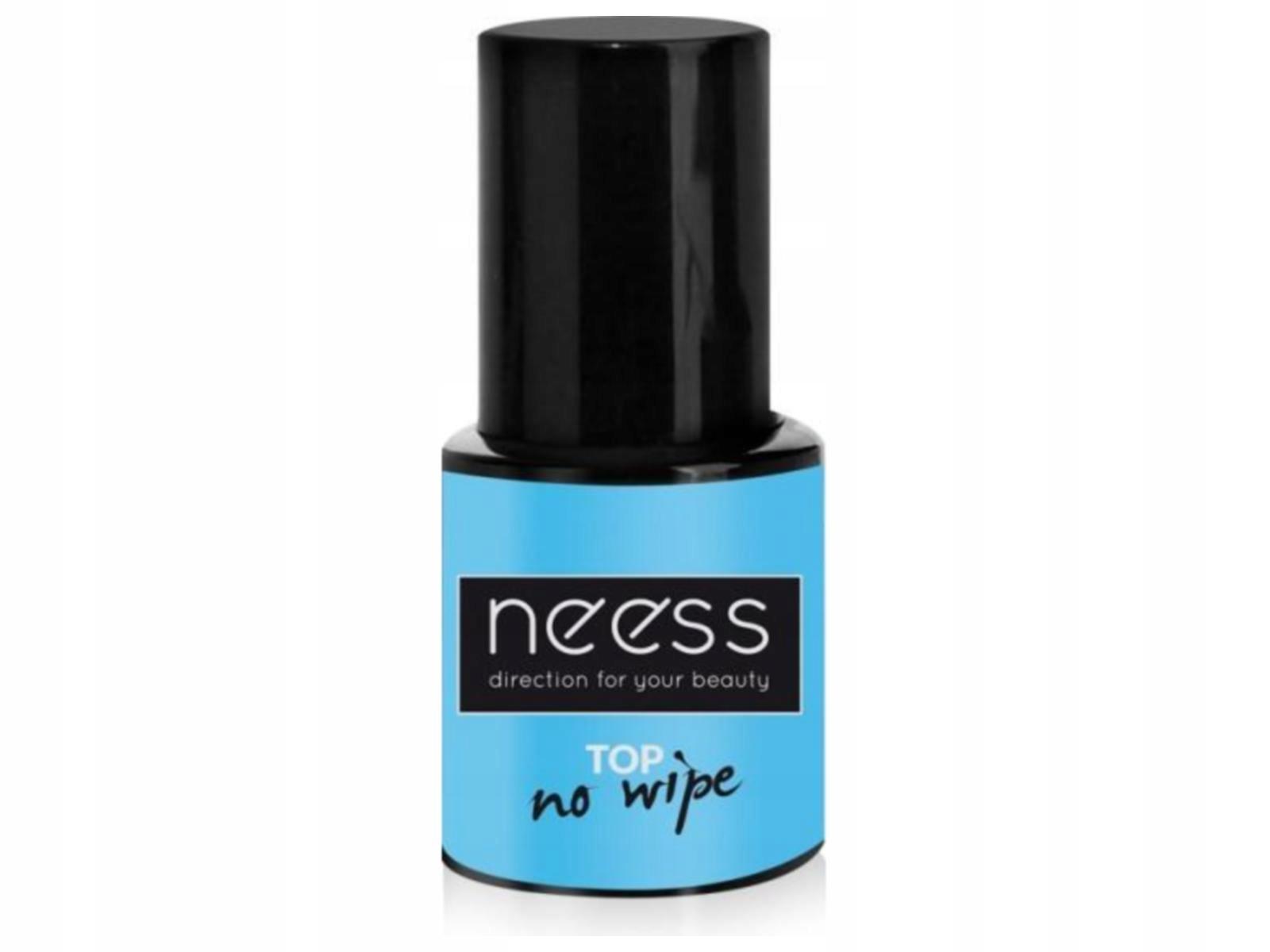 NEESS Top No Wipe do efektów na lakier 8ml