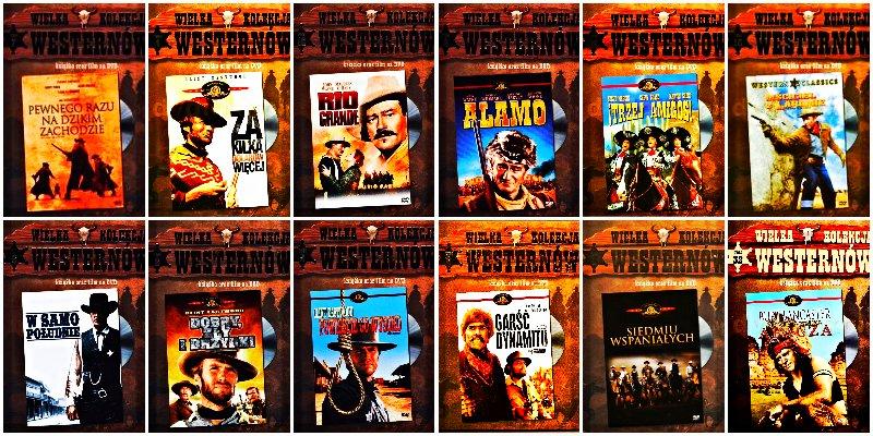 WESTERNY DVD 1-12 WAYNE EASTWOOD CARDINALE LEONE