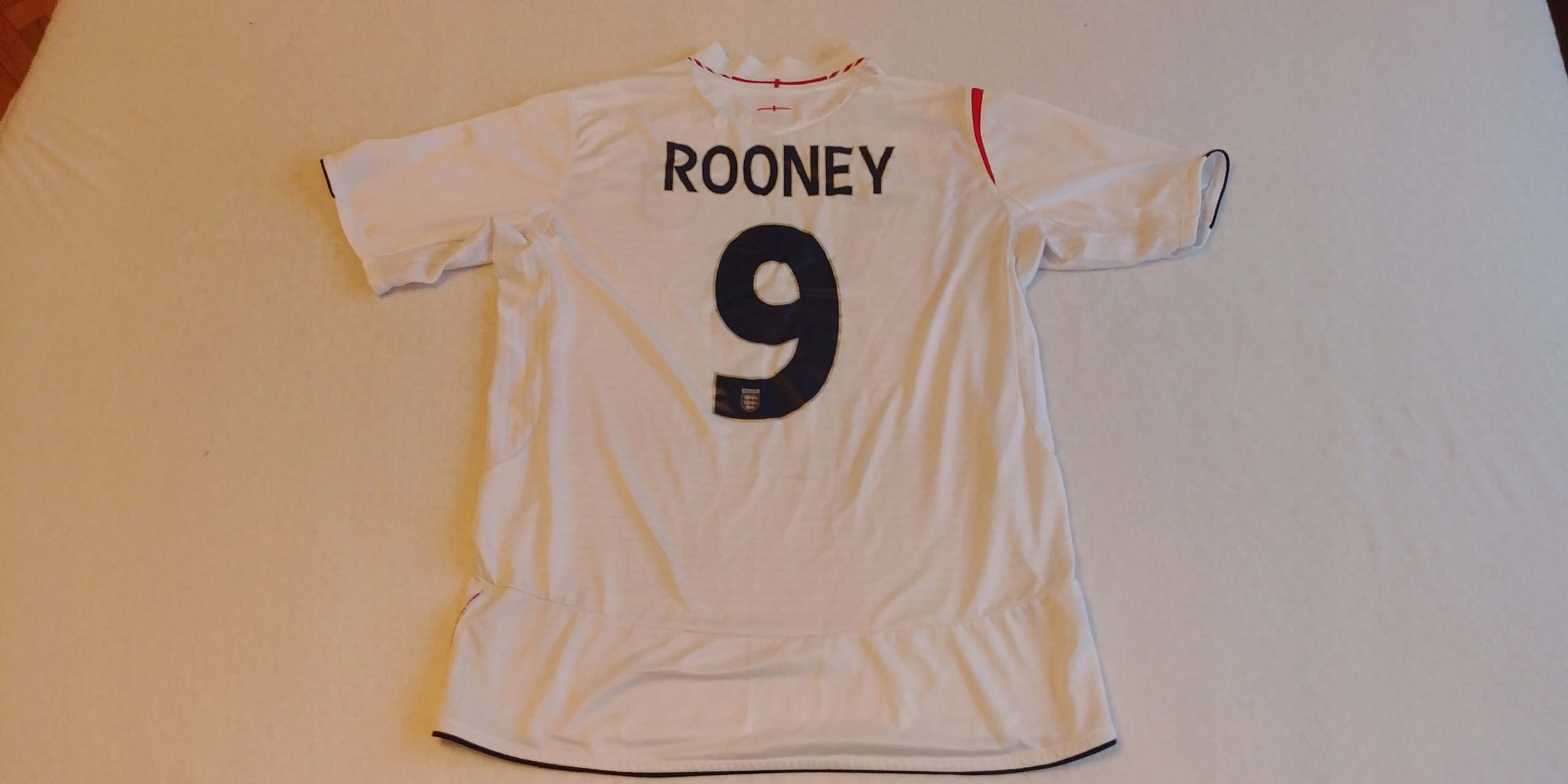 Koszulka Anglia - Rooney 2005/2007 *Umbro* (L)