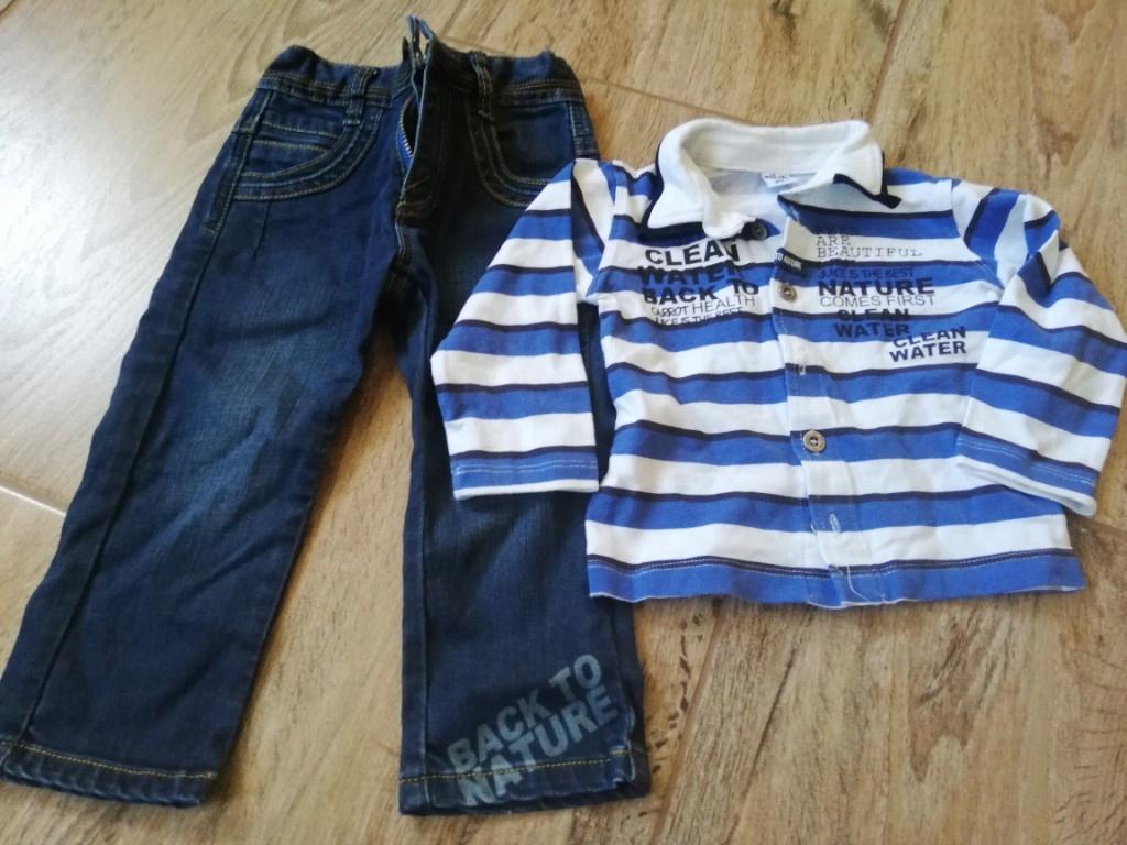 Wójcik spodnie bluzka 80