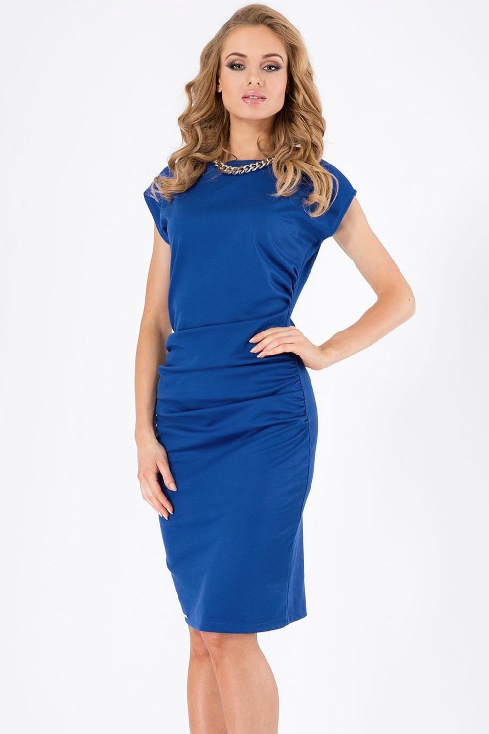 b7ed2ef5b7 Chabrowa sukienka marki Makadamia r. 36 - 6856589220 - oficjalne ...