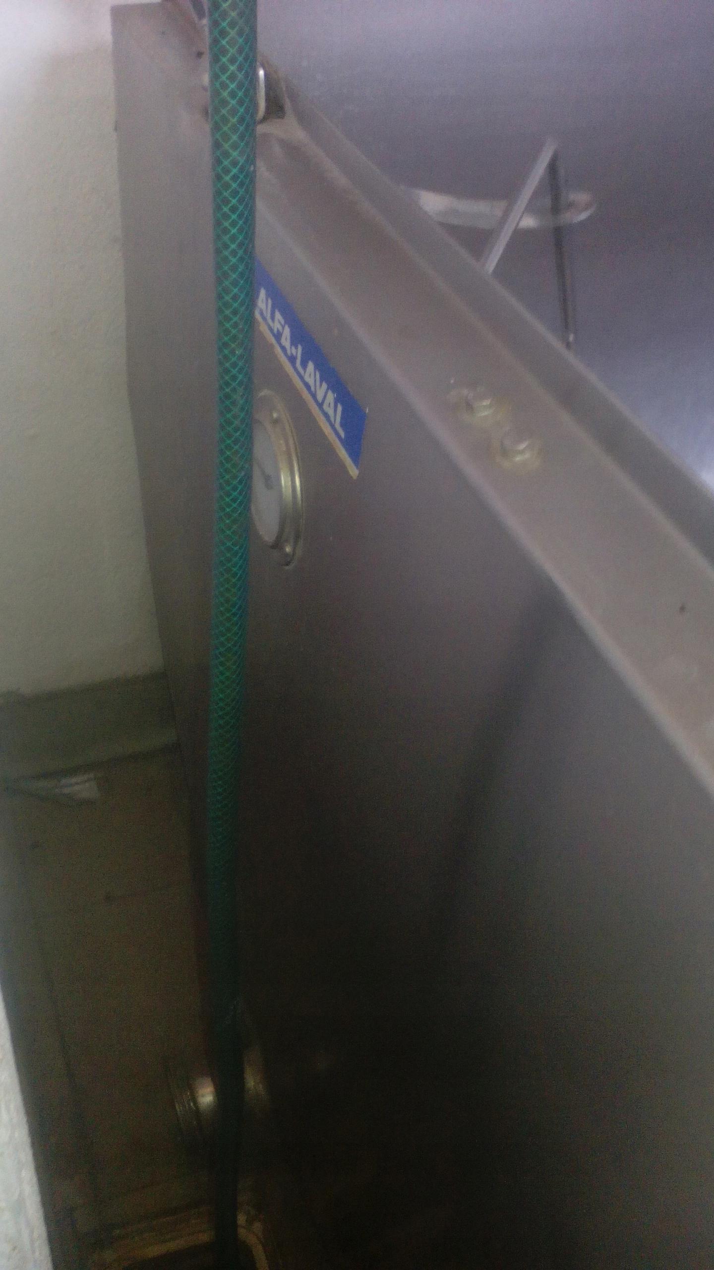 Zbiornik schładzalnik na mleko 600L Alfa Laval