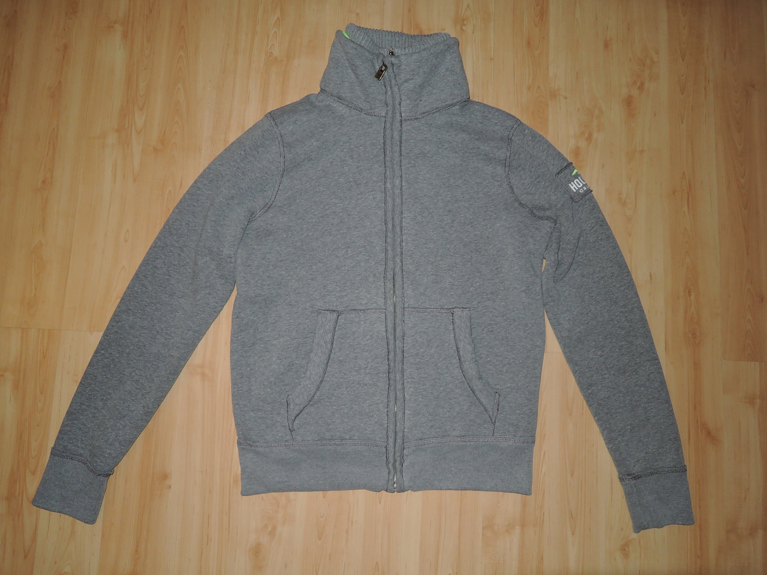 GRUBA BLUZA HOLLISTER CALIFORNIA TWO ZIP M