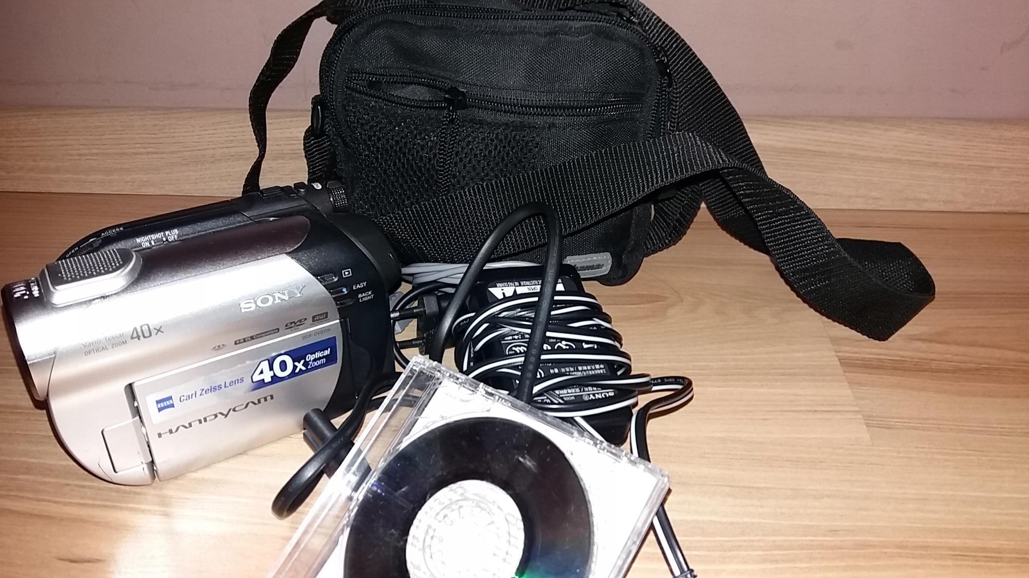 Kamera DVD Sony Handycam DCR-DVD106E