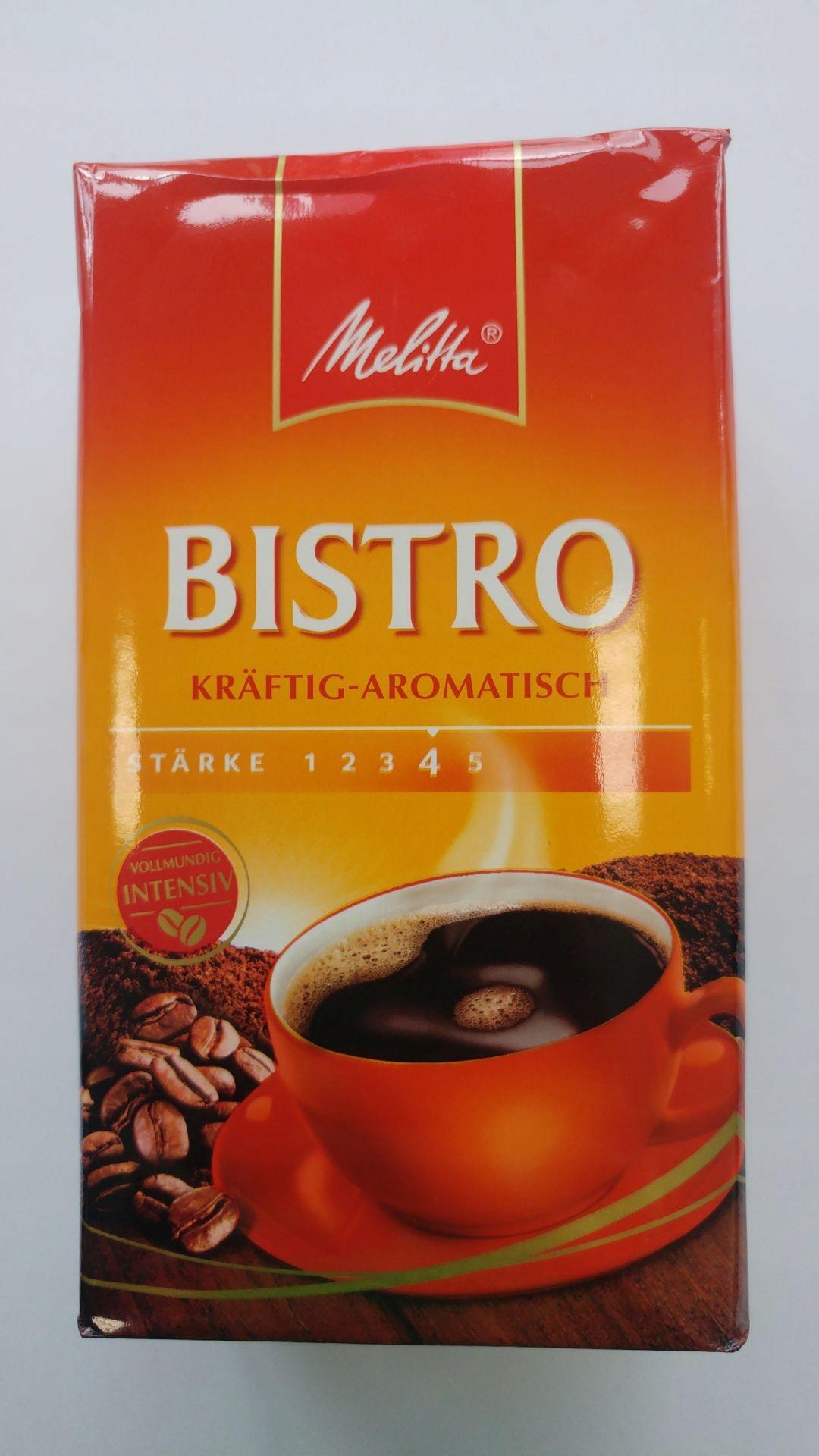 Kawa mielona MELITTA Bistro 500g Niemcy!