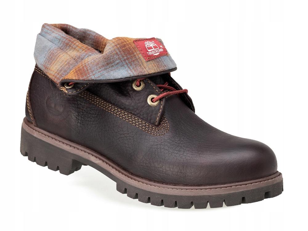 Buty trekkingowe męskie Salomon sportowe na jesień skórzane wiązane
