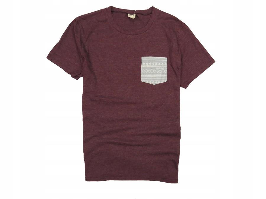 HOLLISTER koszulka t-shirt kieszonka M