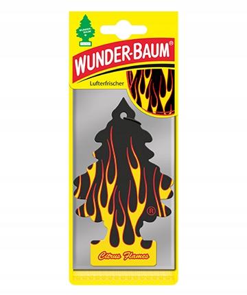 Wunder-Baum Drzewko Zapachow Choinka Citrus Flames