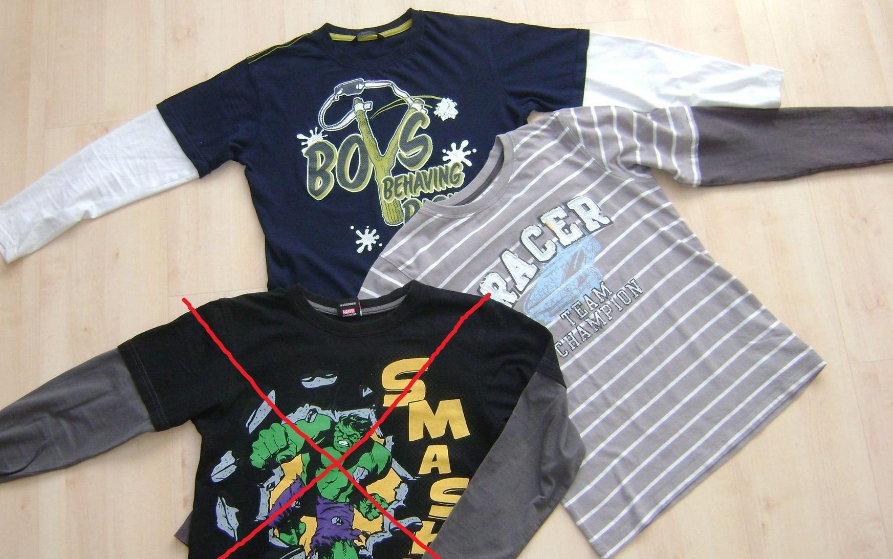 Bluzki dla chłopca next george roz 140 146