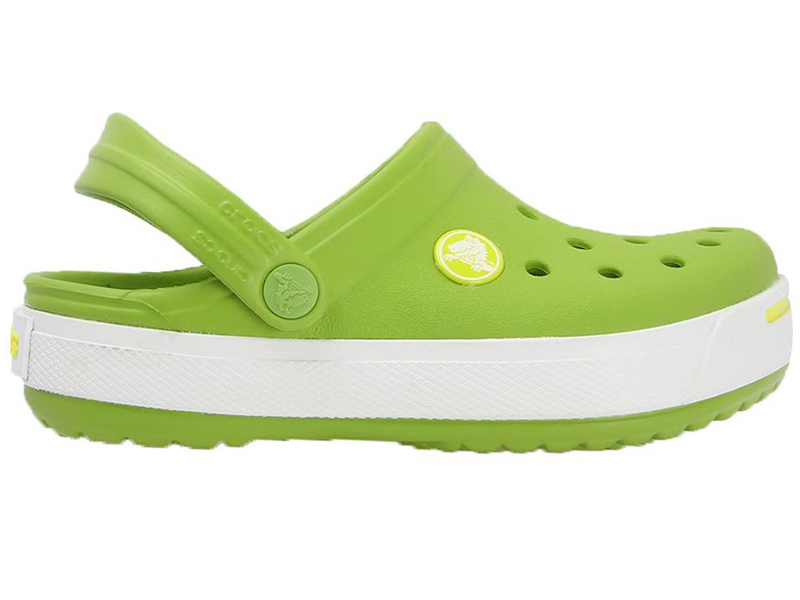 super promocje Pierwsze spojrzenie wyprzedaż hurtowa Klapki dziecięce Crocs Crocband Kids Zielone c8/9 ...