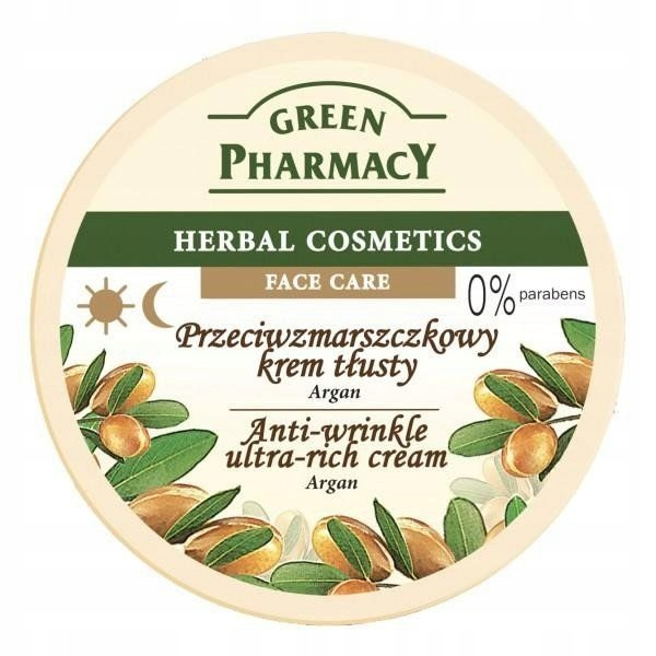 Green Pharmacy Herbal Cosmetics Krem do twarzy tłu
